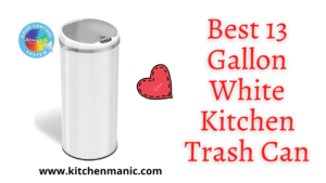 best 13 gallon white trash cans